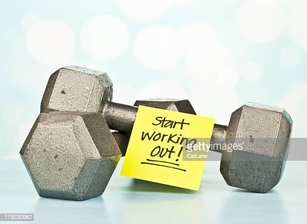Fitness Message: Start Working Out