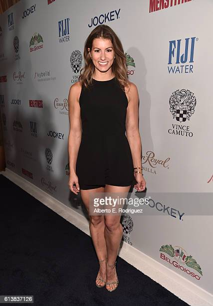 Fitness model Jennifer Widerstrom attends MEN'S FITNESS Celebrates the 2016 GAME CHANGERS at Sunset Tower Hotel on October 10 2016 in West Hollywood...