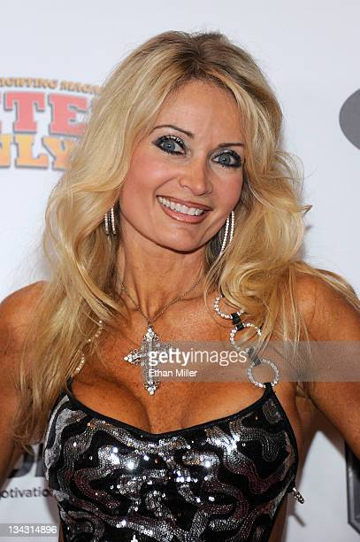 Fitness model Sherry Goggin arrives at the Fighters Only World Mixed Martial Arts Awards 2011 at the Palms Casino Resort November 30 2011 in Las...