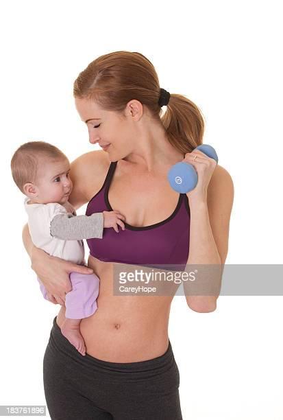 Centre de remise en forme avec bébé