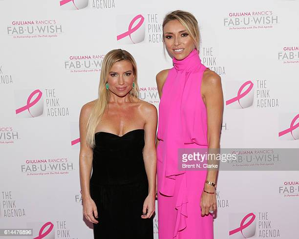 Fitness/wellness expert and Lisa Mae Lee award recipient Tracy Anderson and television personality/event hostess Giuliana Rancic attend The Pink...