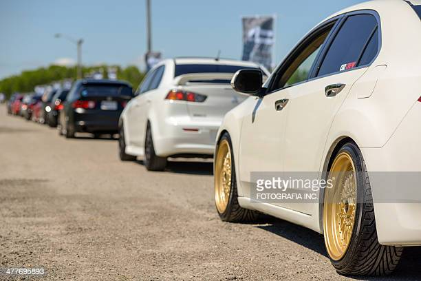 fitted weekend in toronto - customized car stock pictures, royalty-free photos & images