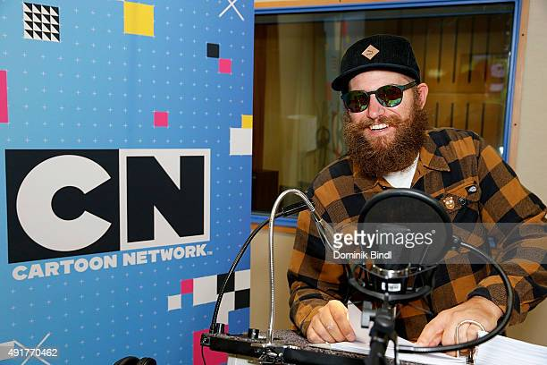 Fitti at the dubbing studio for the Cartoon Network animation series We Bare Bears Baeren wie wir on October 07 2015 in Munich Germany