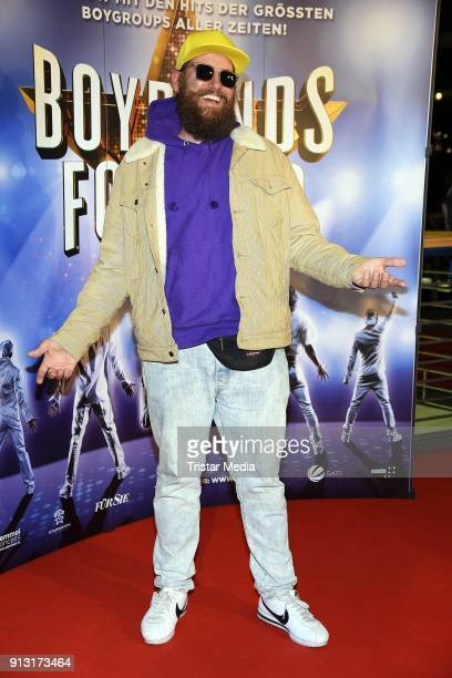 Fitti attends the 'Boybands Forever' Premiere at Theater am Potsdamer Platz on February 1 2018 in Berlin Germany