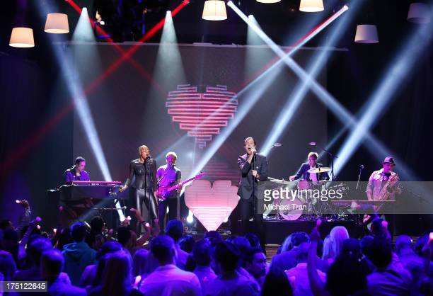 Fitz and The Tantrums perform onstage during the 2013 Do Something Awards held at Avalon on July 31 2013 in Hollywood California