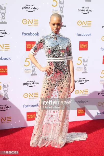 Fitz attends the 50th NAACP Image Awards at Dolby Theatre on March 30 2019 in Hollywood California