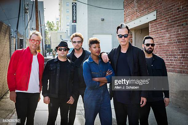 Fitz the Tantrums are photographed for Los Angeles Times on June 7 2016 in Los Angeles California PUBLISHED IMAGE CREDIT MUST READ Allen J SchabenLos...
