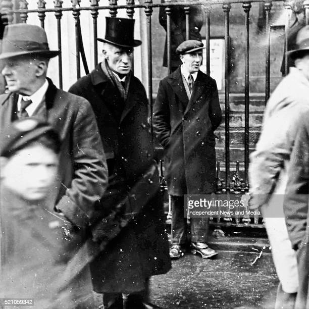 J Fitzgerald_kennedy first minister for justice in the Provisional Government Circa 1919