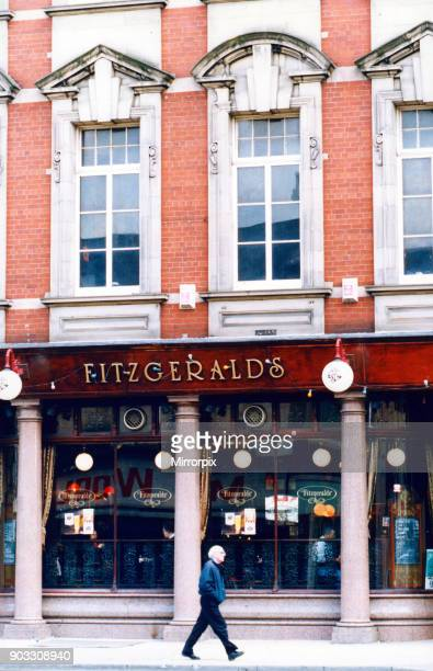 Fitzgeralds, Stockton High Street, which CAMRA thinks is worth listing. 25th April 1994.