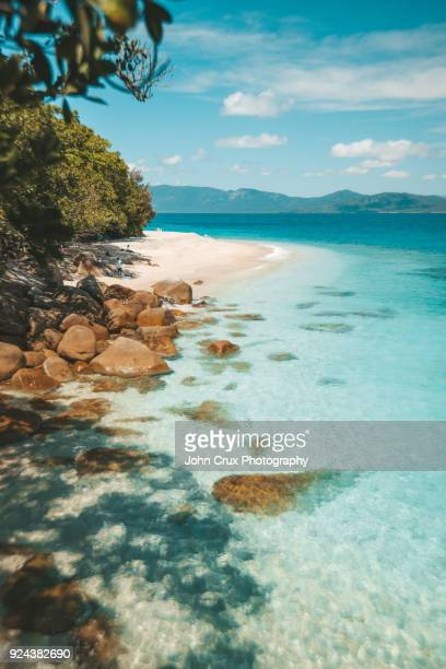 fitzroy island cairns - international landmark stock pictures, royalty-free photos & images