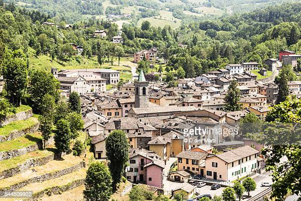 fiumalbo village near the city of modena in italy - didier marti stock photos and pictures