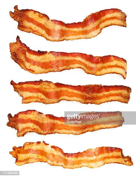 Five Bacon Slices