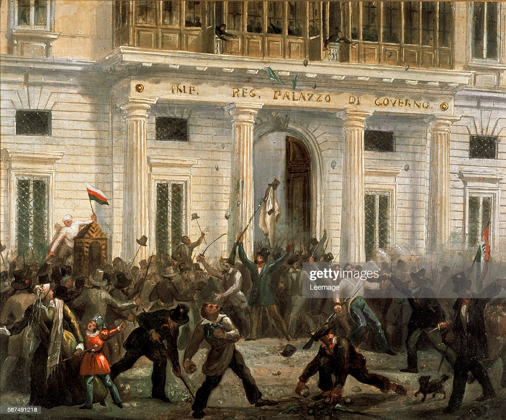 First War of Independence - Five days in Milan : News Photo