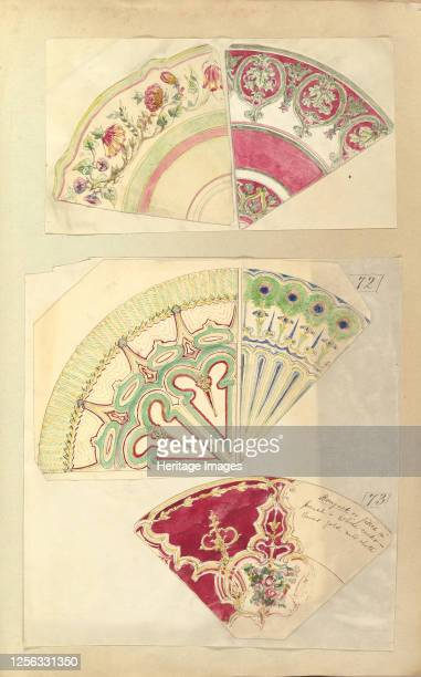 Five Designs for Decorated Plates 184555 Artist Alfred Crowquill