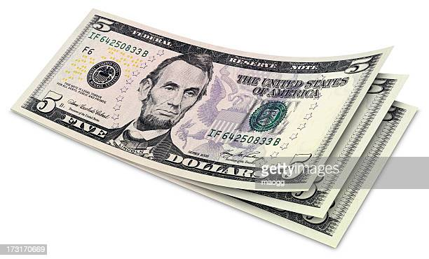 Five Dollar Banknotes
