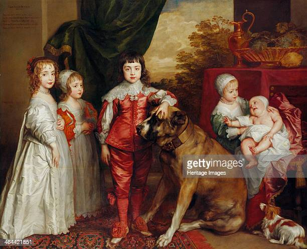 Five Eldest Children of Charles I 1637 Found in the collection of the Royal Collection London