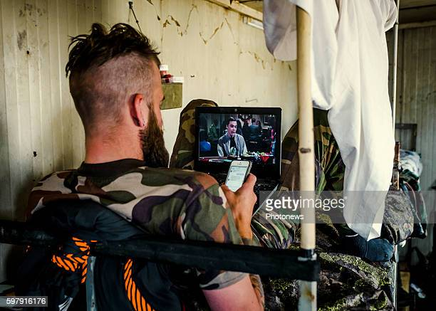 Five European voluntary soldiers joined PAK Peshmerga troups in Kurdistan Northern Irak to fight against Daesh because they think it's a war the...