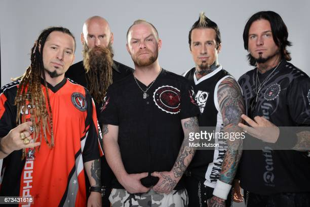 Five Finger Death Punch Download Festival Donington United Kingdom 17th June 2013 Line up includes Zoltan Bathory Ivan Moody Jason Hook