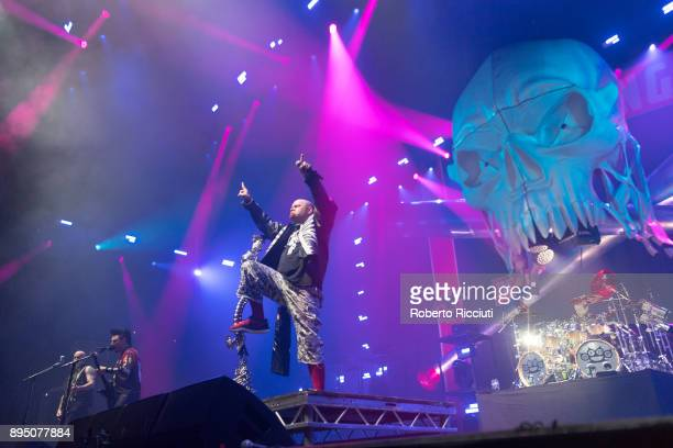 Five Finger Death Punch perform live on stage at The SSE Hydro on December 18 2017 in Glasgow Scotland