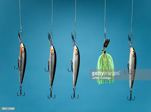 Five Fishing Lures