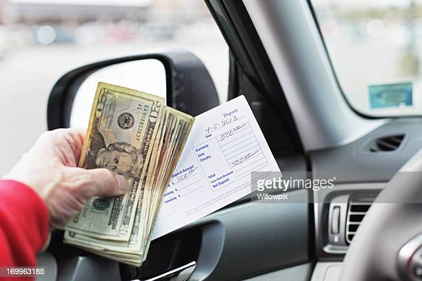 Five Hundred Dollar Drive Through Bank Deposit