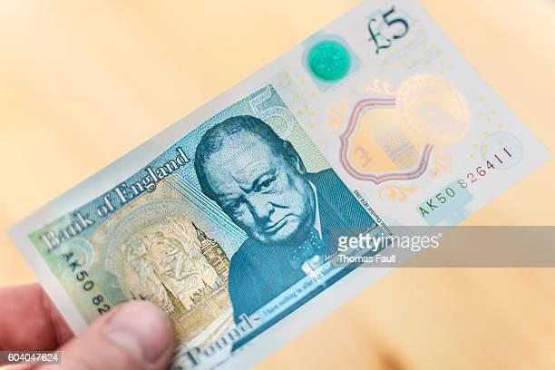 2016 UK Five Pound Note - Winston Churchill