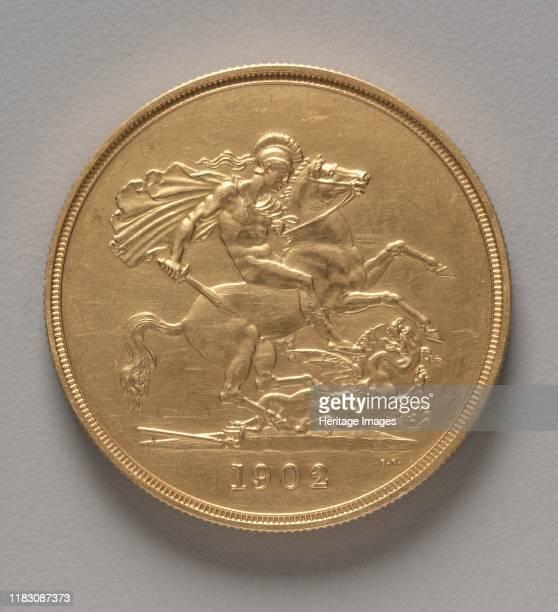 Five Pounds 1902 Creator Benedetto Pistrucci