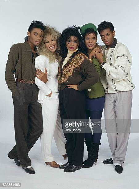 Five Star a British pop group formed of five brothers and sisters circa 1986