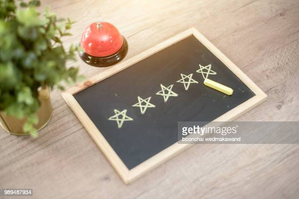 five star hotel - rating stock photos and pictures