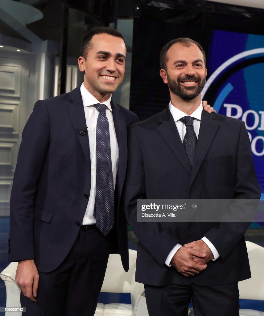 Porta A Porta Tv Show - January 23, 2018
