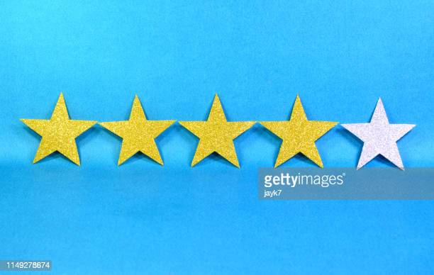 five star - rating stock photos and pictures