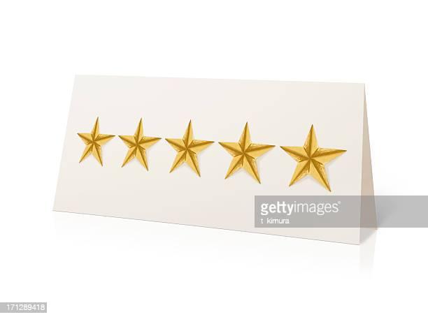 Five Stars Sign