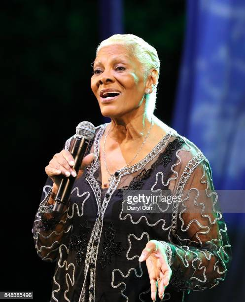 Five time Grammy winning recording artist Dionne Warwick performs after the 2016 Hawaii Invitational of Polo event on September 16 2017 in Waimanalo...