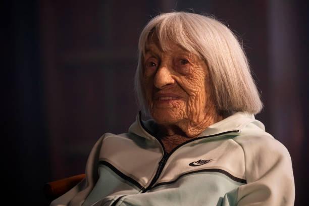 HUN: Oldest Living Olympic Champion Agnes Keleti