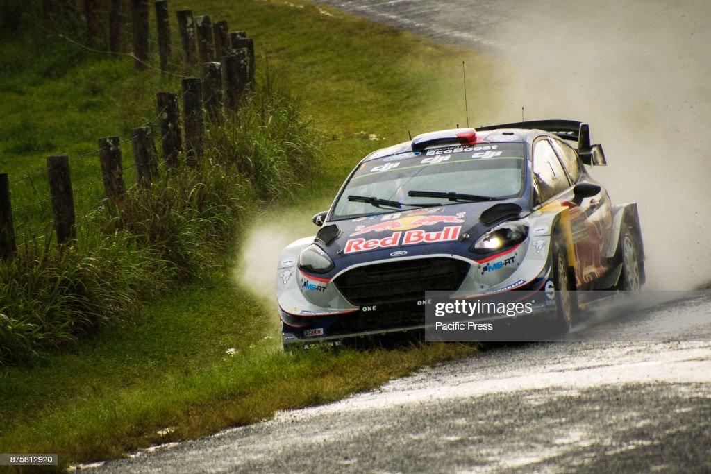 Five time WRC Champion Sébastien Ogier (FRA) and co-driver ...