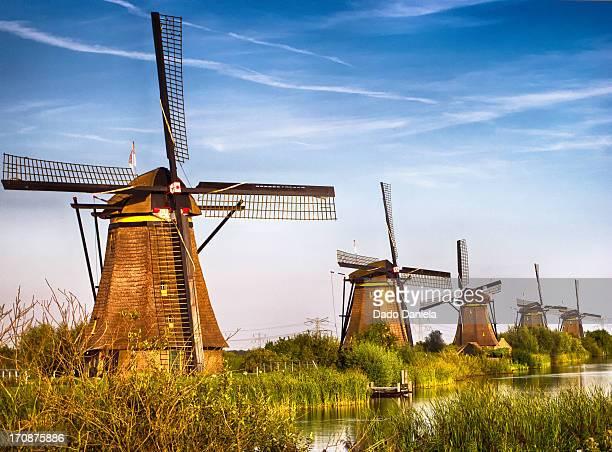 Five Windmills