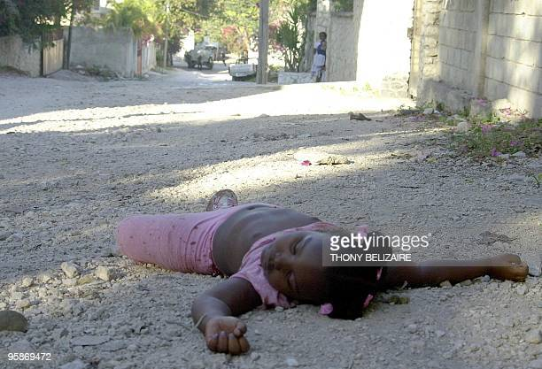 A five yearold girl was killed 10 February 2005 in Port au Prince during a confrontation between rebels and UN peacekeeping forces Police hunting a...