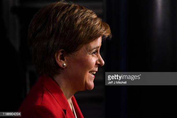 Five years since Nicola Sturgeon became First Minister, she joined Dundee East candidate Stewart Hosie as she made a keynote general election speech...