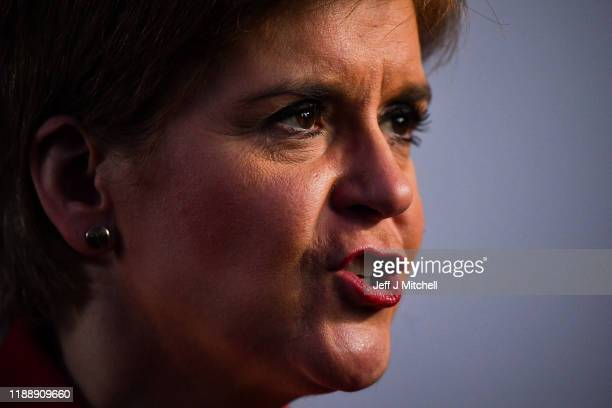 Five years since Nicola Sturgeon became First Minister she joined Dundee East candidate Stewart Hosie as she made a keynote general election speech...