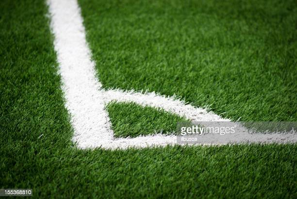 Five-a-side football pitch corner kick