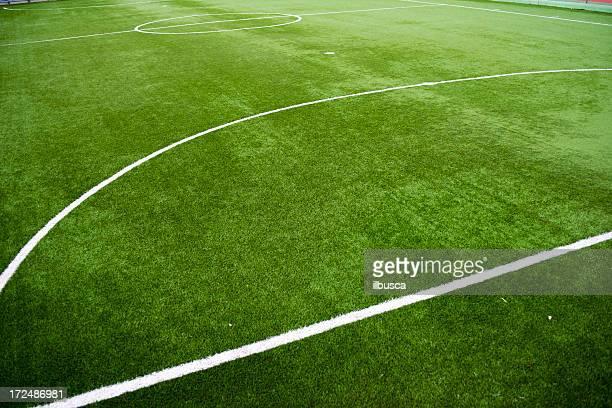 futebol de cinco campo de futebol - chute de escanteio - fotografias e filmes do acervo