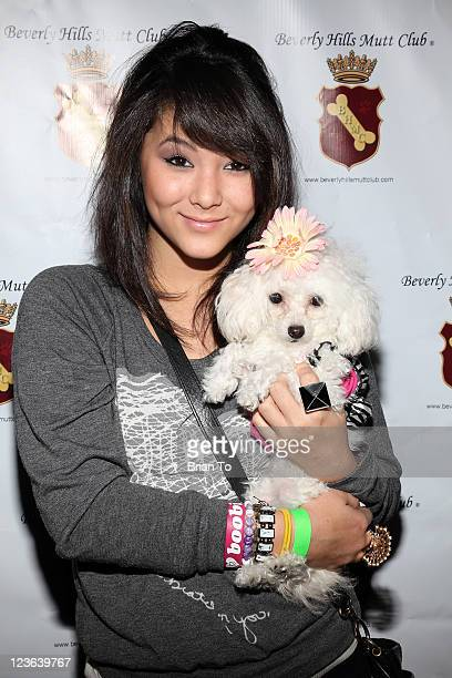 Fivel Stewart attends 2nd Annual Jingle Bones Howliday event benefiting the SPCA LA at Beverly Hills Mutt Club on December 14 2010 in Beverly Hills...