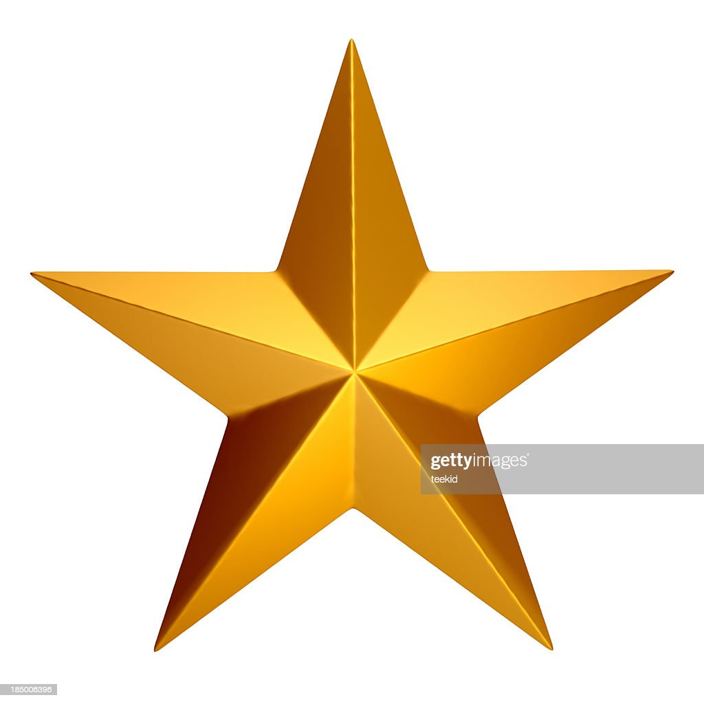 Five-Pointed Star : Stock Photo