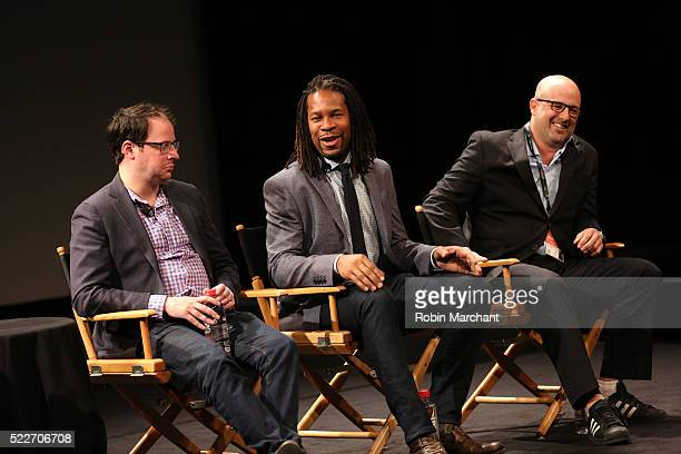 FiveThirtyEight EditorinChief Nate Sylver LZ Anderson and A More Perfect Union Director Eric Drath speak on stage Tribeca Talks After The Movie...