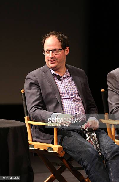 FiveThirtyEight EditorinChief Nate Sylver speaks on stage Tribeca Talks After The Movie Elections and Scandal at SVA Theatre 2 on April 20 2016 in...