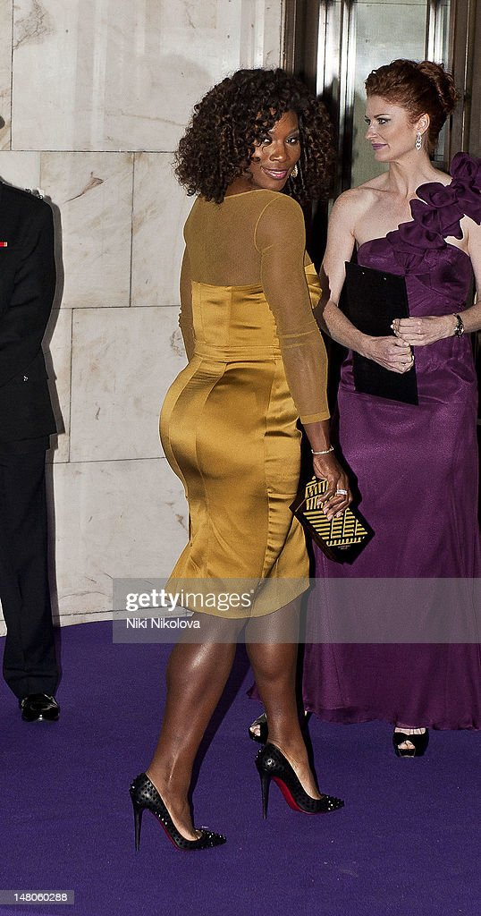 Five-times Wimbledon Ladies' Champion Serena Williams attends the Wimbledon Championships Winners Ball at InterContinental Park Lane Hotel on July 8, 2012 in London, England.