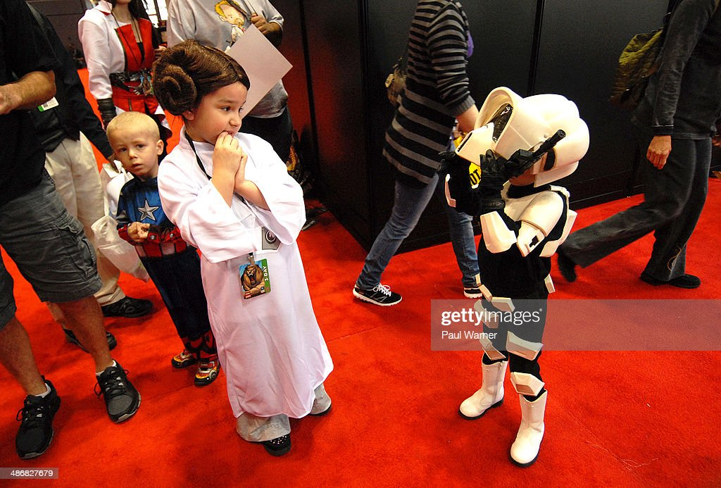 2014  Chicago Comic And Entertainment Expo - Day 1 : News Photo
