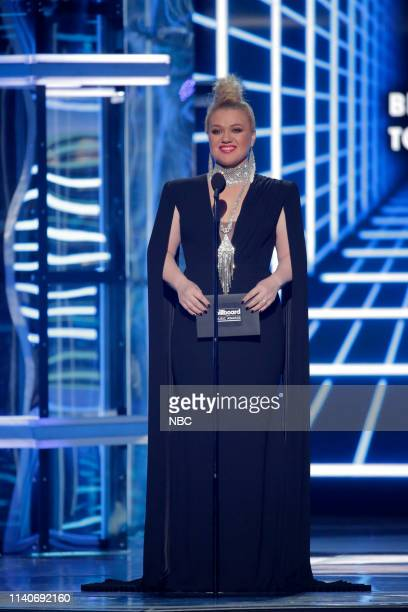 AWARDS Fixed Show 2019 BBMA at the MGM Grand Las Vegas Nevada Pictured Kelly Clarkson