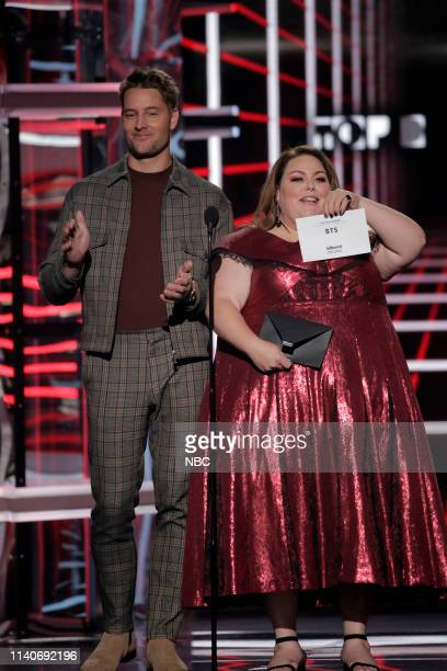 AWARDS Fixed Show 2019 BBMA at the MGM Grand Las Vegas Nevada Pictured Justin Hartley Chrissy Metz