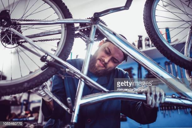 Fixing A Bike Seat